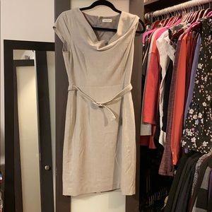 Calvin Klein career work dress